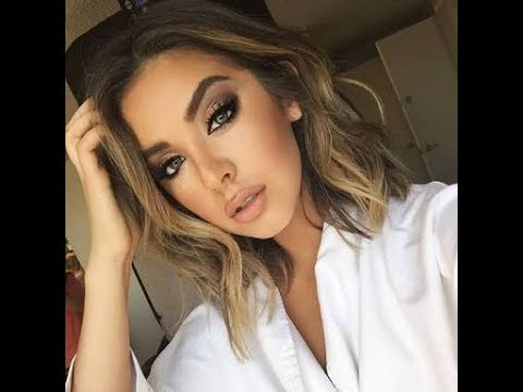 Eye Makeup With White Dress Full Face Makeup With White Dress Youtube