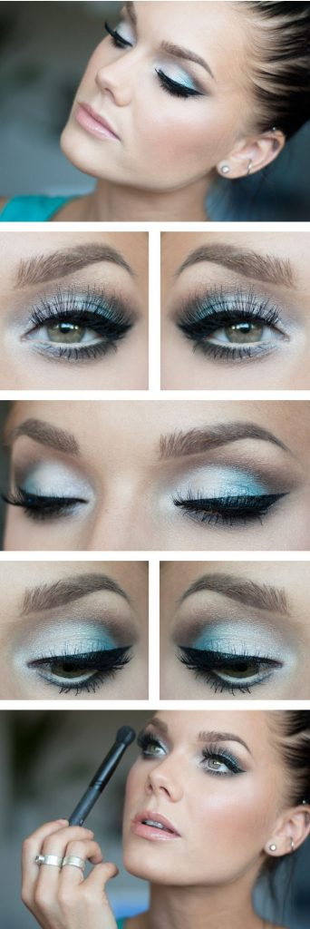 Eye Makeup With White Dress Prom Makeup For White Dress Peachy Pink Prom Makeup Tutorial Easy