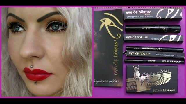 Eye Of Horus Makeup Makeup Review Tutorial Eye Of Horus Long Luscious Lashes