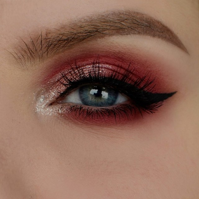 Eyes For Makeup How To Pull Off A Burgundy Red Eye Makeup Isadora Global