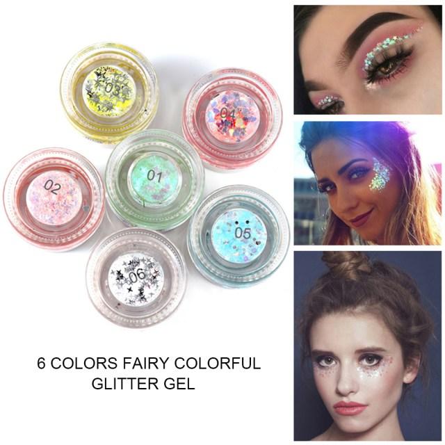 Fairy Eye Makeup Handaiyan Fairy Colorful Eye Shadow Glitter Gel Charming Eyeshadow