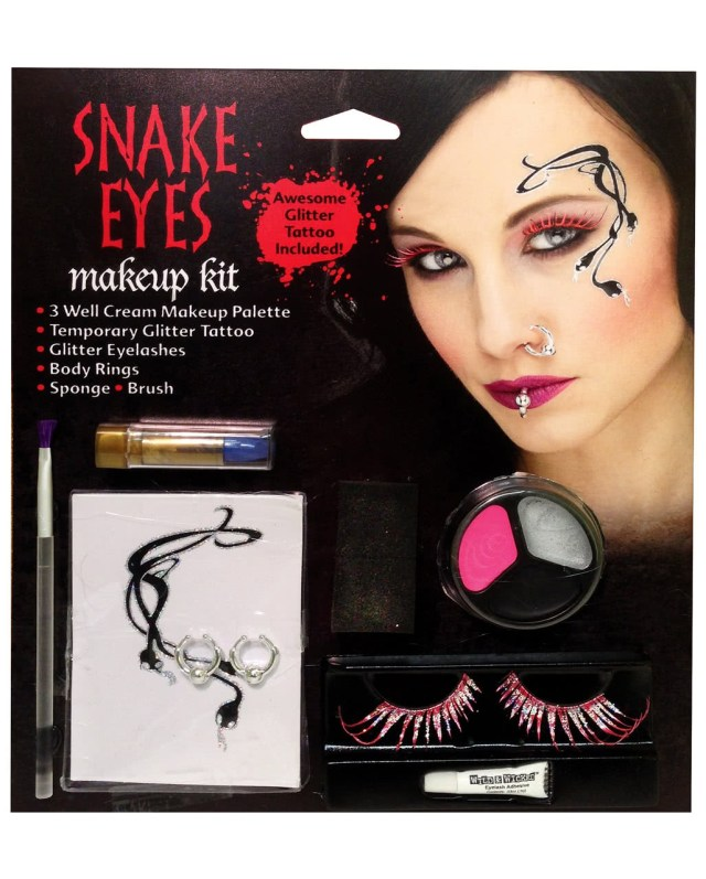 Fairy Eye Makeup Snake Eyes Fairy Make Up Kit Stage Make Up Carnival Make Up Special
