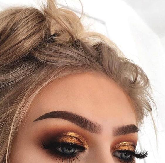 Gold And Smokey Eye Makeup 10 Stunning Smokey Eye Makeup Looks Ecemella
