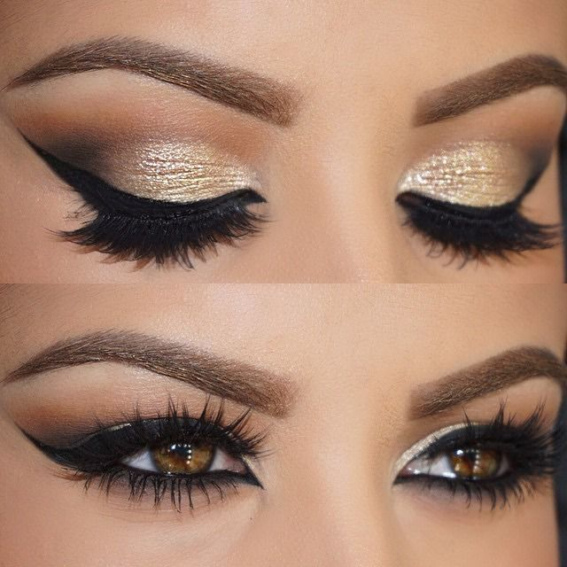 Gold And Smokey Eye Makeup Best Ideas For Makeup Tutorials Gold Smokey Eye Amra Olevic