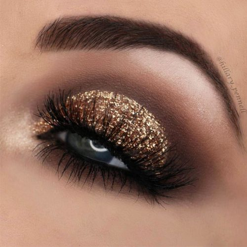 Gold And Smokey Eye Makeup Makeup For Grey Eyes 18 Best Grey Eye Makeup Ideas Ladylife