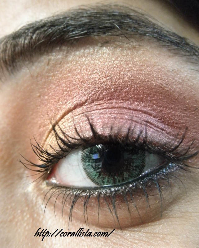 Gold Eye Makeup Tutorial Festive Pink And Gold Eye Makeup Step Step Tutorial And Fotd