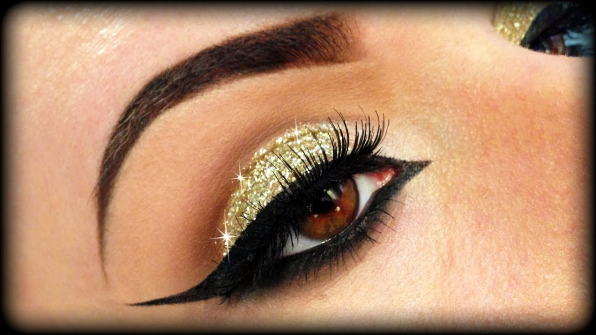 Gold Makeup For Green Eyes Beautiful Eye Make Up In Green And Gold Shades Top Pakistan