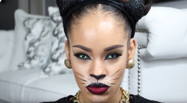 Halloween Cat Eye Makeup Halloween Cat Eye Makeup Tutorials That You Can Master Stylecaster
