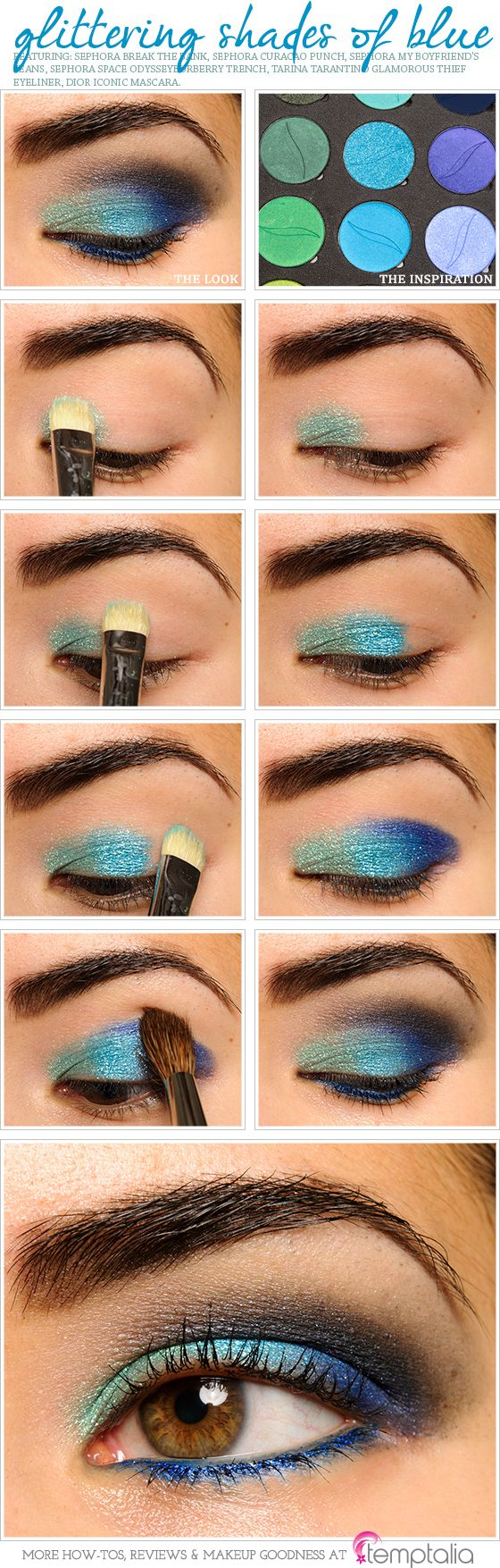 Homecoming Makeup For Blue Eyes 27 Pretty Makeup Tutorials For Brown Eyes Styles Weekly