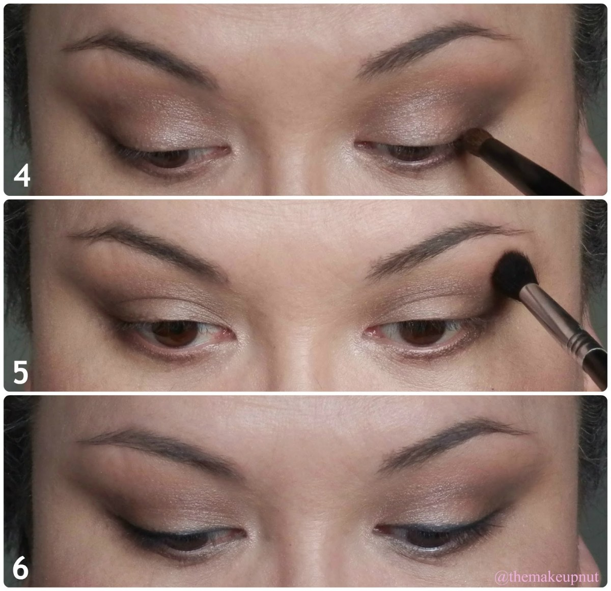 Hooded Eyes Makeup Everyday Work Look For Hooded Eyes F Lorac Pro Palette Themakeupnut