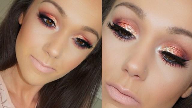 Hooded Eyes Makeup Sunset Eye Makeup Tutorial Prom Makeup Hooded Eyes Beauty Teacher