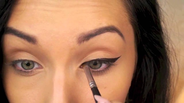 How Do You Do Cat Eye Makeup Perfect Winged Eyeliner Tutorial Cat Eye Liner Youtube