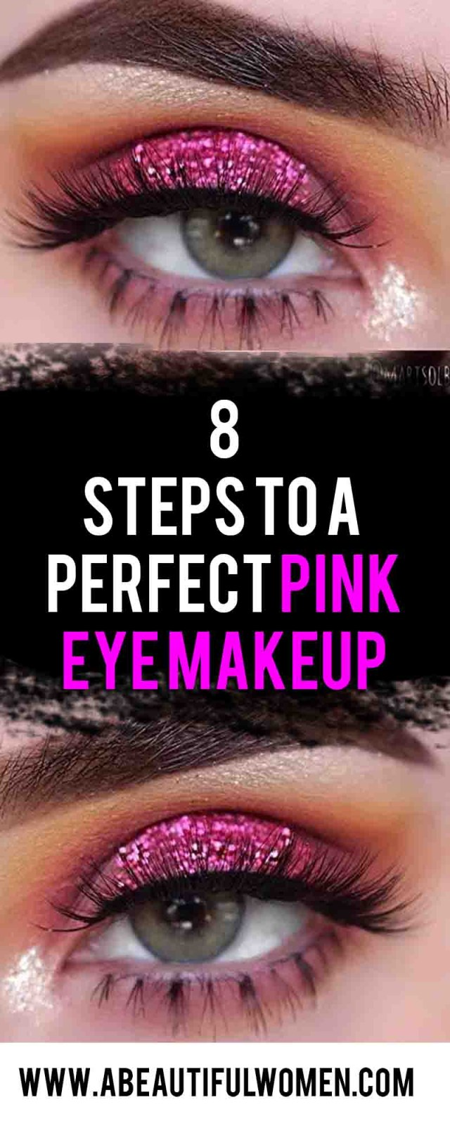 How To Do Perfect Eye Makeup 8 Steps To A Perfect Pink Eye Makeup Abeautiful Women