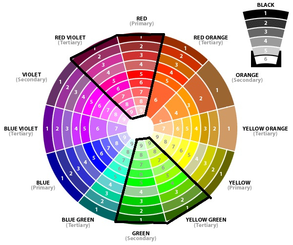 Makeup Colour Wheel For Eyes How To Choose The Best Eyeshadow Colors For Your Eyes Hey Gorgeous