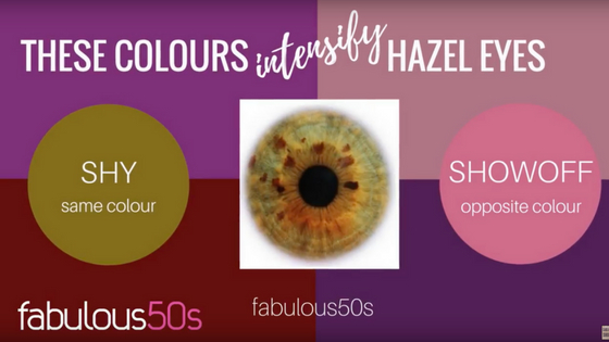 Makeup Colour Wheel For Eyes How To Make Your Eyes Pop With Color Fabulous 50s