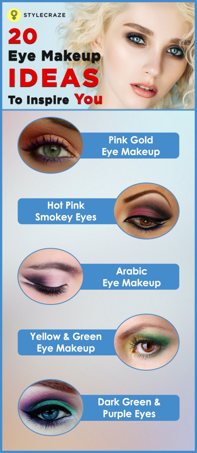 Makeup Designs For Eyes Top 20 Beautiful And Sexy Eye Makeup Looks To Inspire You