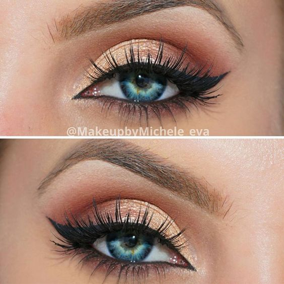 Makeup Eye Looks 10 Awesome Eye Makeup Looks For Blue Eyes Pretty Designs