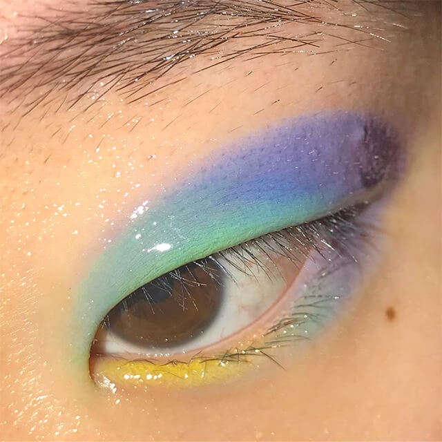 Makeup Eye Looks Courtney Min Is The Make Up Artist Behind Your Fave Colorful Eye Looks