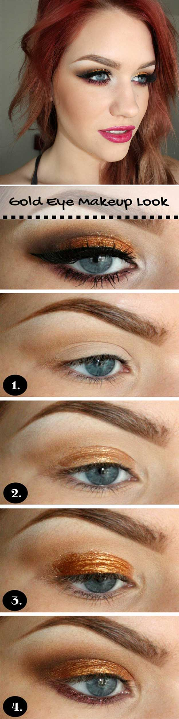 27 brilliant makeup for blue eyes brown hair - wemakeupto