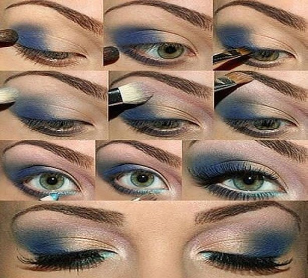 Makeup For Greenish Blue Eyes 15 Spring Makeup Ideas For Green Eyes Pretty Designs