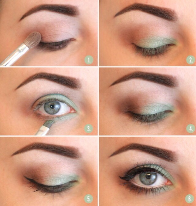 Makeup For Greenish Blue Eyes Classy Casual Brown Green Smokey Eye Makeup Tutorial Rena