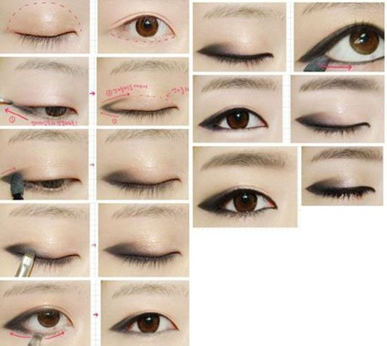 Makeup For Small Asian Eyes Have You Known The Types Of Monolids