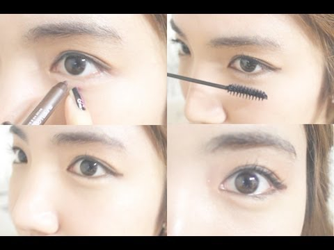 Makeup For Small Asian Eyes Korean Daily Eye Makeup Tutorial Wishtrend Youtube