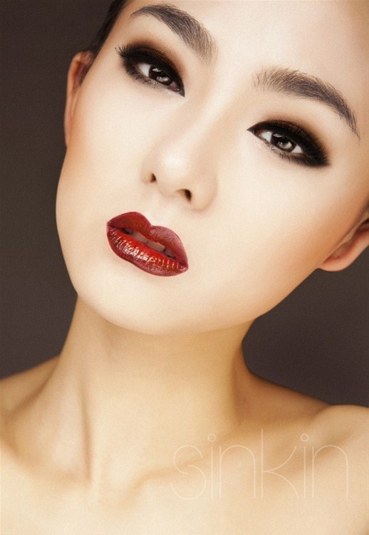 Makeup For Small Asian Eyes Makeup For Asianalmond Eyes Cat Eyes Red Lips
