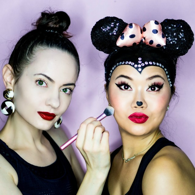 Minnie Mouse Eye Makeup Minnie Mouse Halloween Makeup Tutorial Style Sprinter