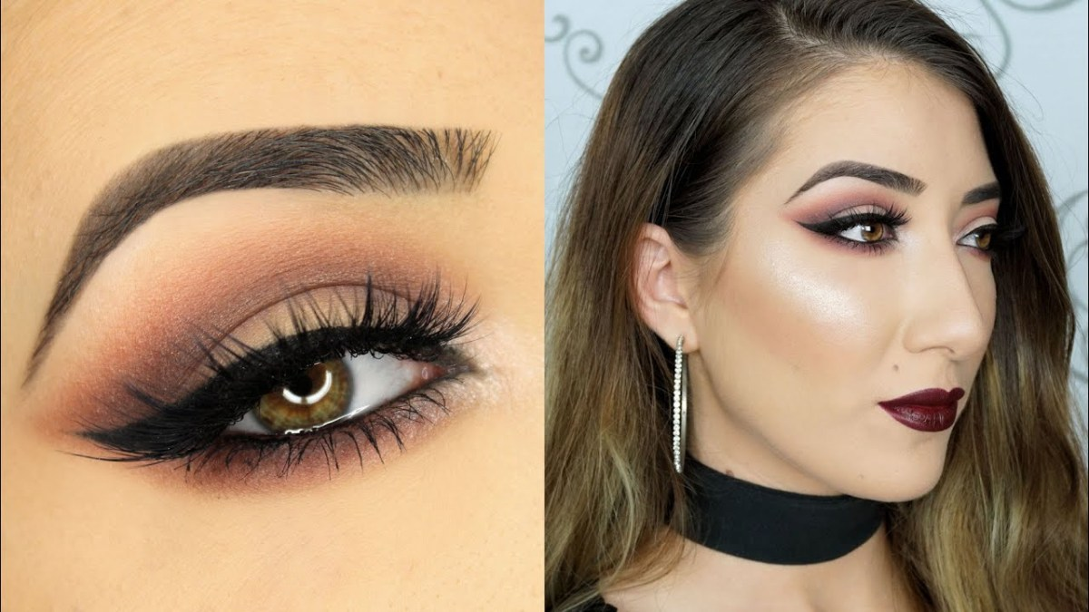 Modern Cat Eye Makeup Cranberry Smokey Cat Eye Makeup Tutorial Anastasia Beverly Hills