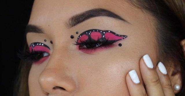 Monarch Butterfly Eye Makeup Butterfly Eye Makeup Instagram Beauty Trend Popsugar Beauty