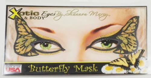 Monarch Butterfly Eye Makeup Monarch Butterfly Reusable Face Mask Easy Sticker Eye Makeup Fairy