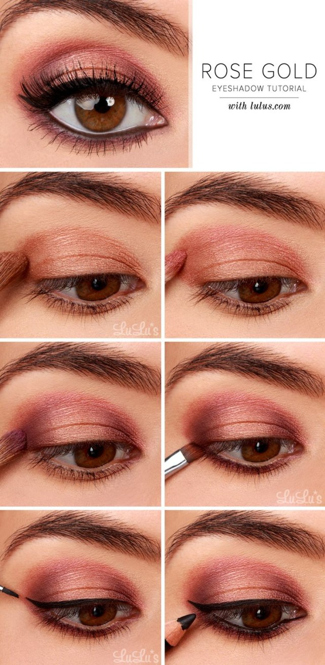 Natural Eye Makeup For Brown Eyes 27 Pretty Makeup Tutorials For Brown Eyes Styles Weekly