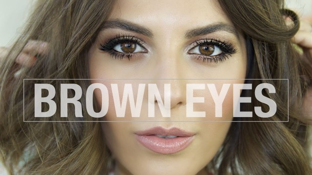 Natural Eye Makeup For Brown Eyes Makeup Tutorial For Brown Eyes S1 Ep8 Youtube