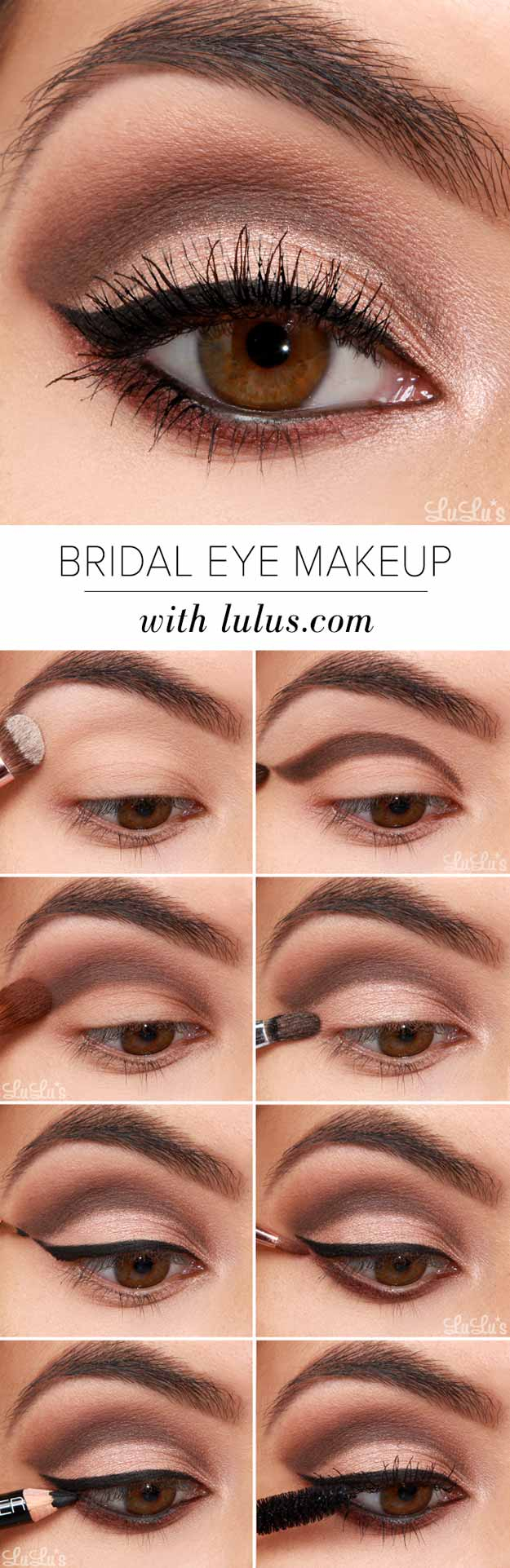 Natural Makeup For Brown Eyes 30 Wedding Makeup For Brown Eyes The Goddess