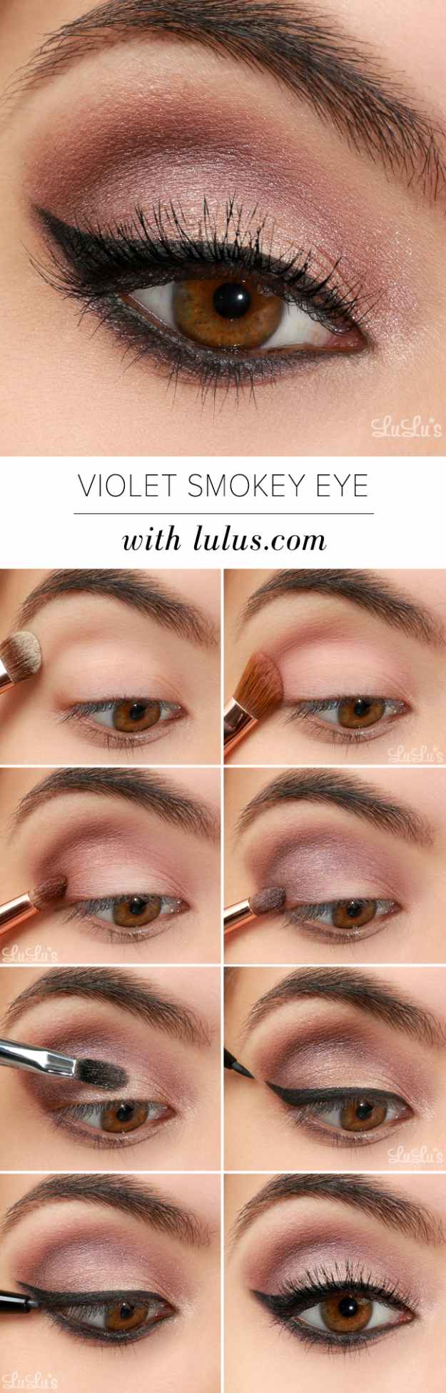 Natural Makeup For Brown Eyes Gorgeous Easy Makeup Tutorials For Brown Eyes Makeup Tutorials