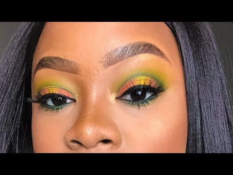 Peacock Inspired Eye Makeup Peacock Inspired Eye Makeup Tutorial Youtube