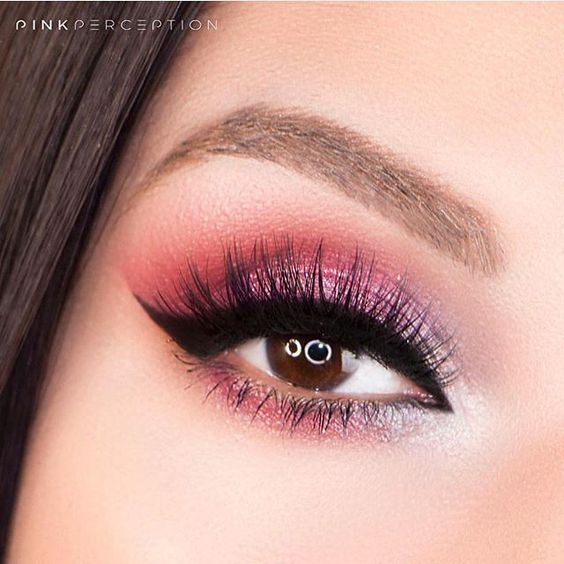 Pink Makeup For Brown Eyes Amazing Pink Eye Makeup For Brown Eyes Miladies
