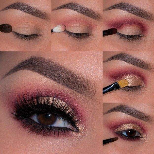 Pink Makeup For Brown Eyes Best Ideas For Makeup Tutorials Pink Smokey Eye Smokey Eye Night
