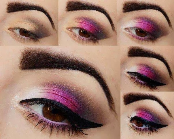 Pink Makeup For Brown Eyes Great Makeup Tutorials For Brown Eyes