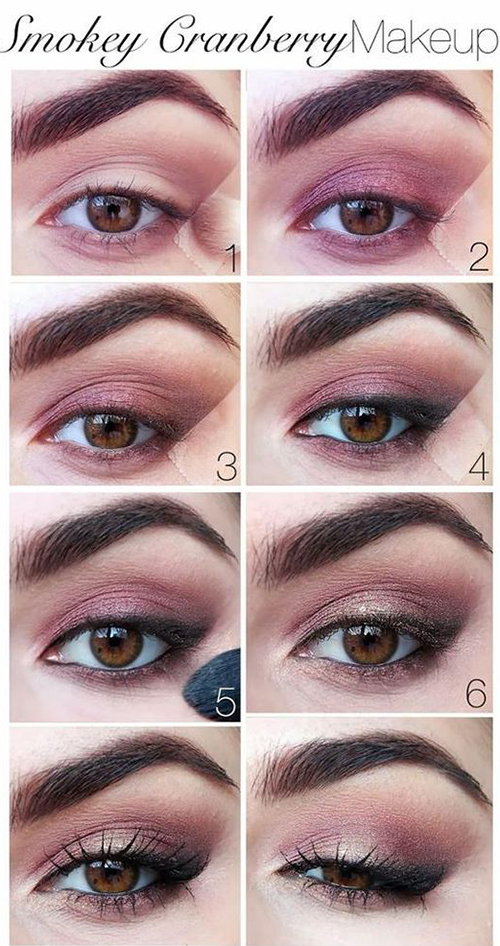 Pink Makeup For Brown Eyes How To Do Smokey Eye Makeup Top 10 Tutorial Pictures For 2019