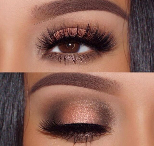 Pink Makeup For Brown Eyes Image About Pink In Makeup Crystal Scott On We Heart It