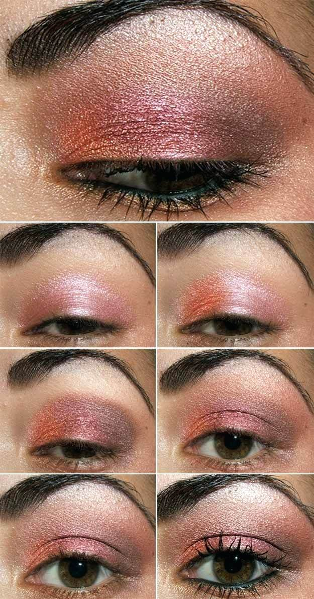 Pink Makeup For Brown Eyes Pink Brown Eyeshadow Anyone Pink Makeup Brown Eyes Successatworkco
