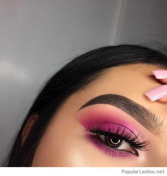 Pink Makeup For Brown Eyes Pink Eye Makeup For Brown Eyes