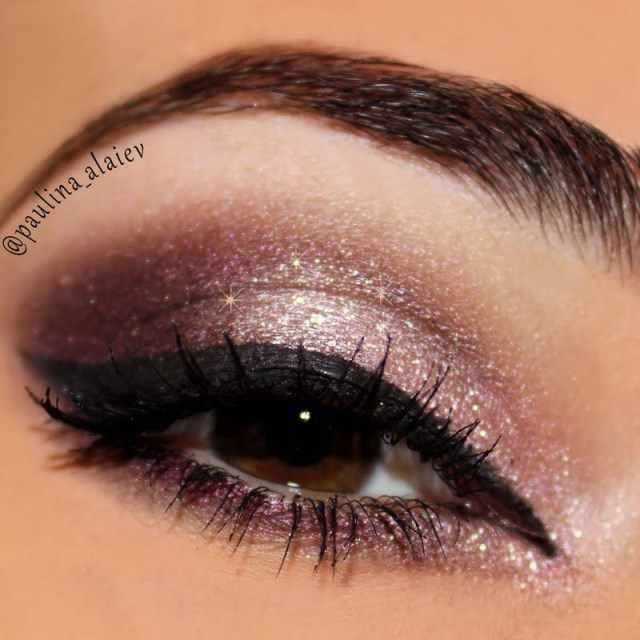 Pink Makeup For Brown Eyes Purple Smokey Paulina A Preen