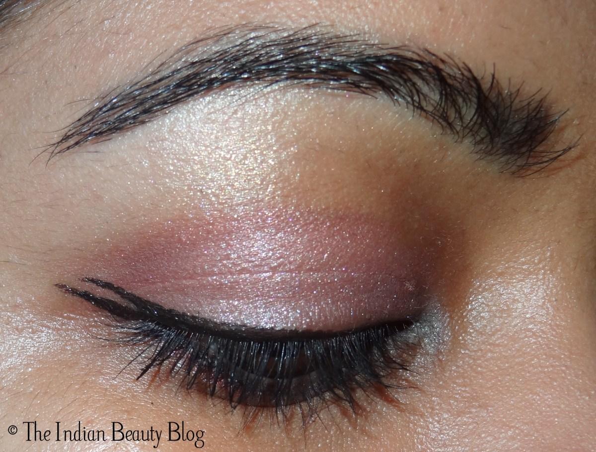 Pretty Light Eye Makeup 30 Days Eye Makeup Challenge Look 17 Double Winged Eyeliner