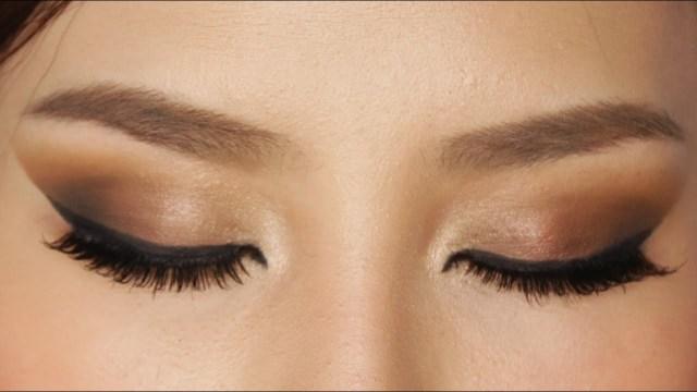 Pretty Light Eye Makeup Easy Brown Smokey Eye Makeup Tutorial