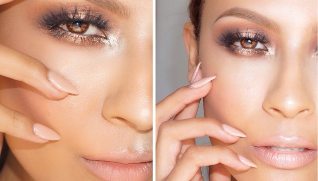 Pretty Light Eye Makeup How To Create The Halo Eye Makeup Look Stylecaster