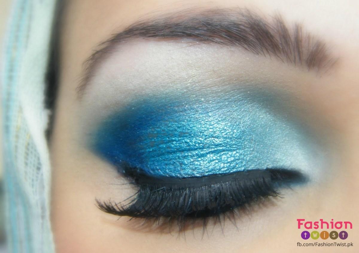 Pretty Light Eye Makeup How To Do A Summer Light Blue Eye Makeup