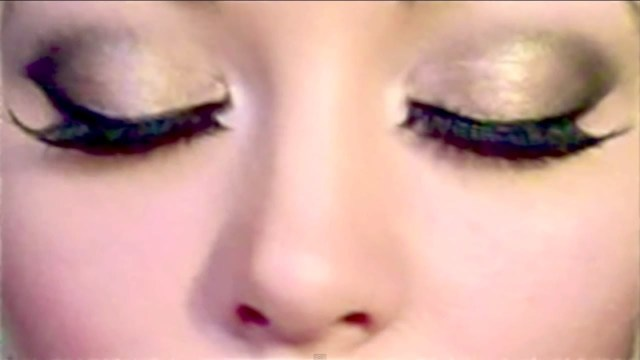 Prom Makeup For Hazel Eyes Glam Gold Smokey Eyes Urban Decay Naked Palette 2 Minute Makeup